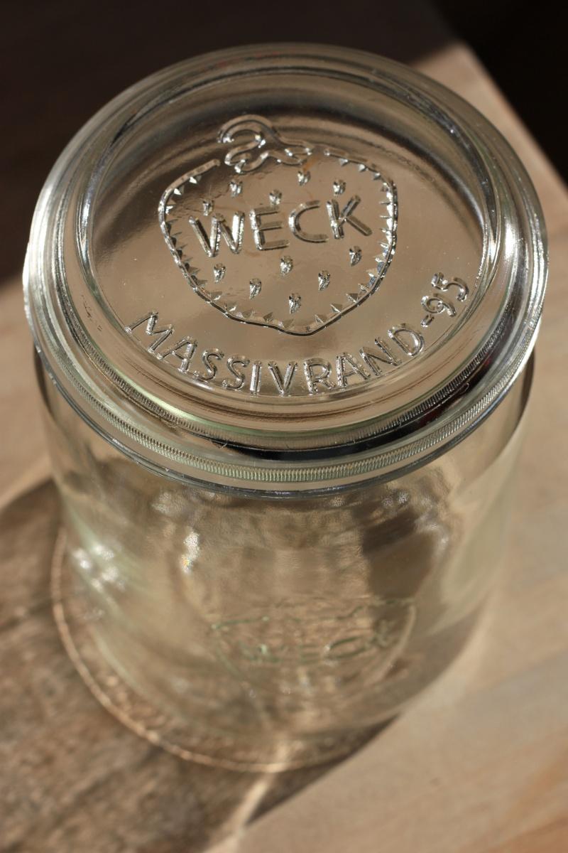 Ca. 40 Jahre altes Weckglas