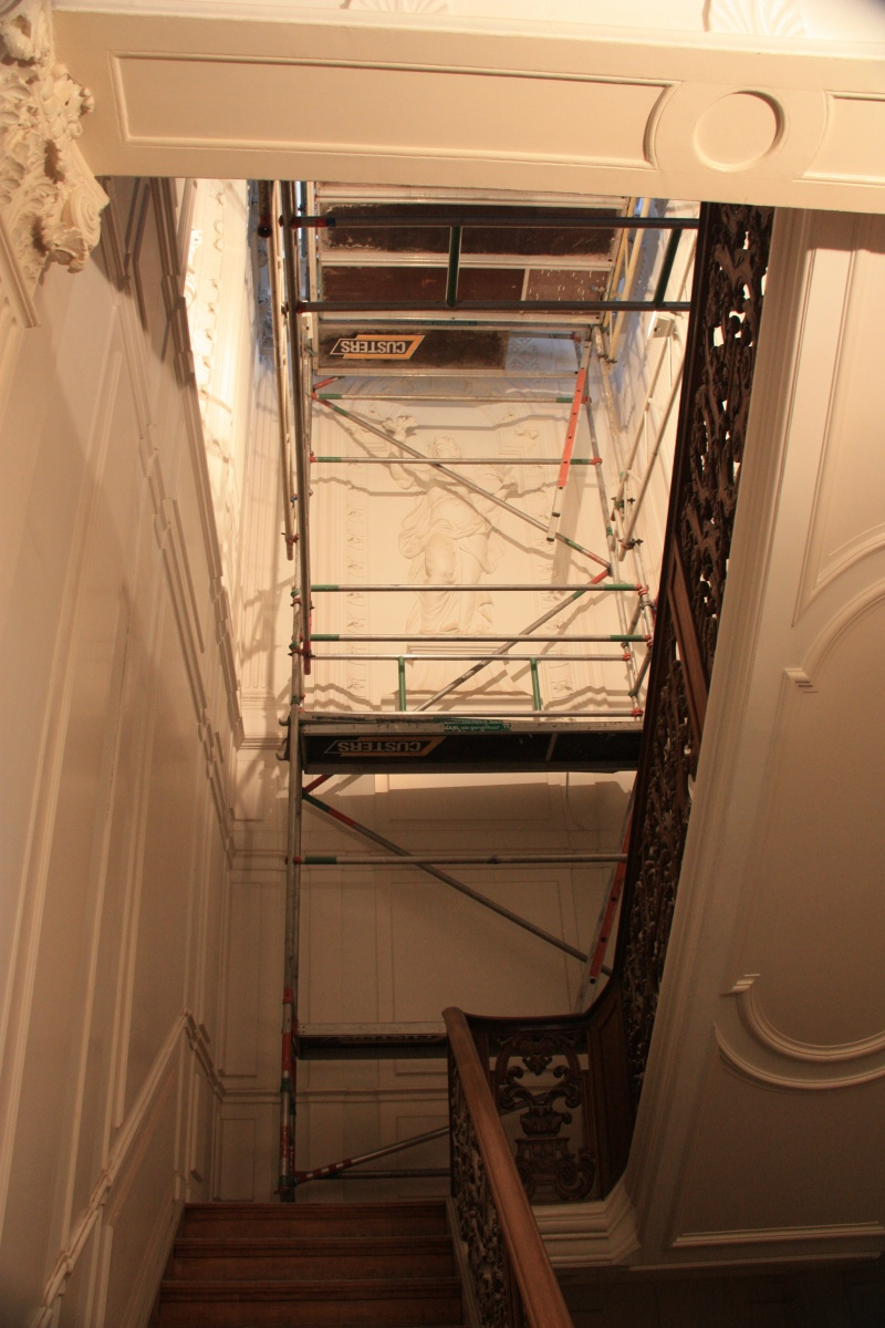 Treppenhaus des Waldorf Astoria Amsterdam
