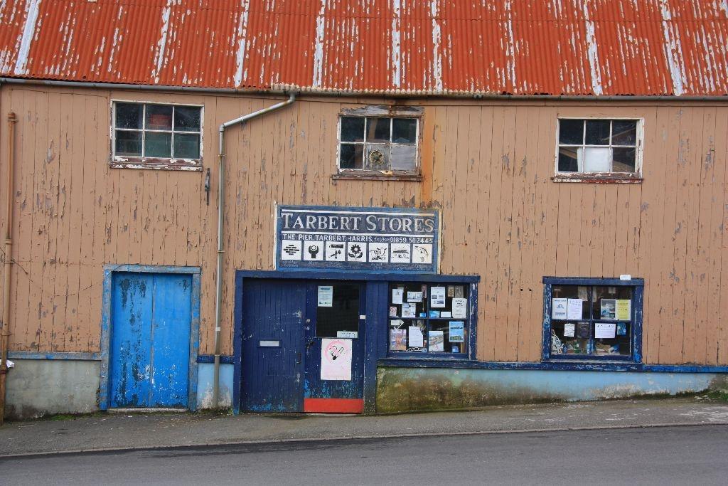 Laden in Tarbert