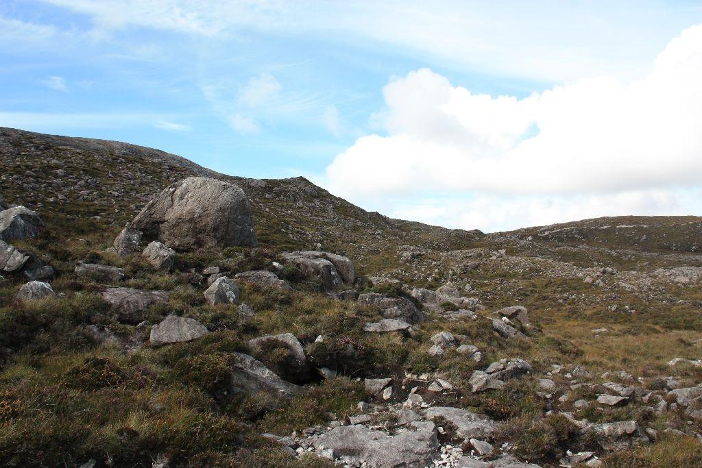 Steinwüste auf Harris