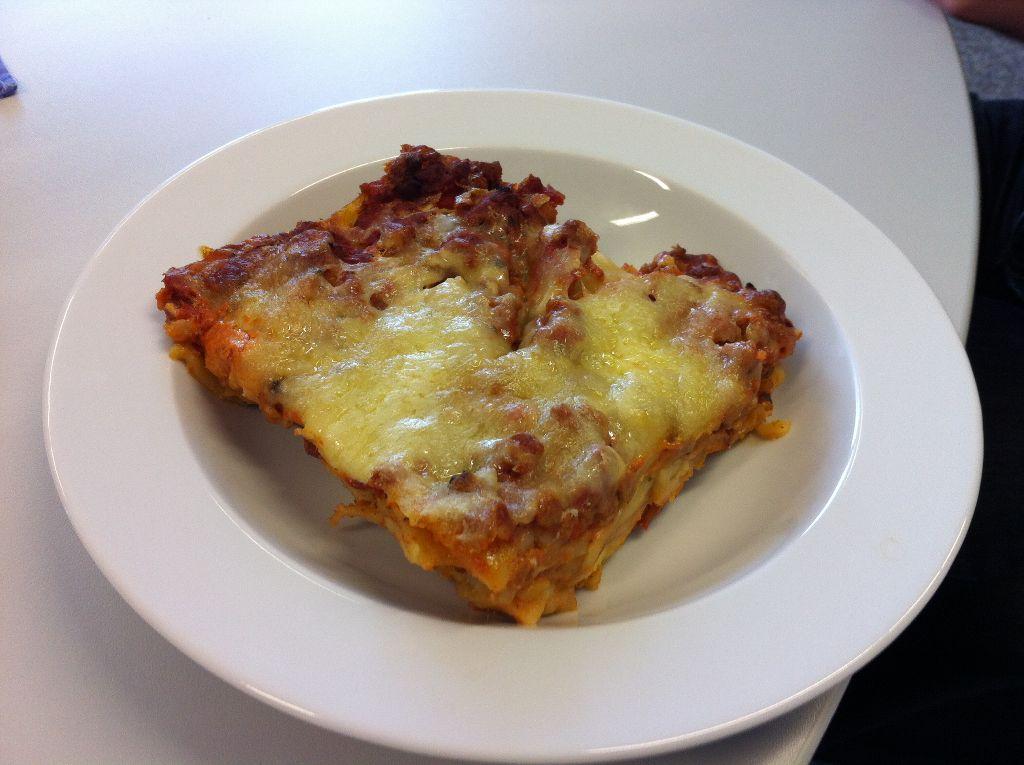 Lasagne - einmal mit Soja, einmal mit Spinat