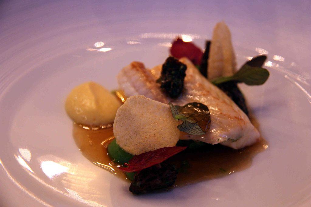 bretonische Seezunge - Quinoa - Morcheln
