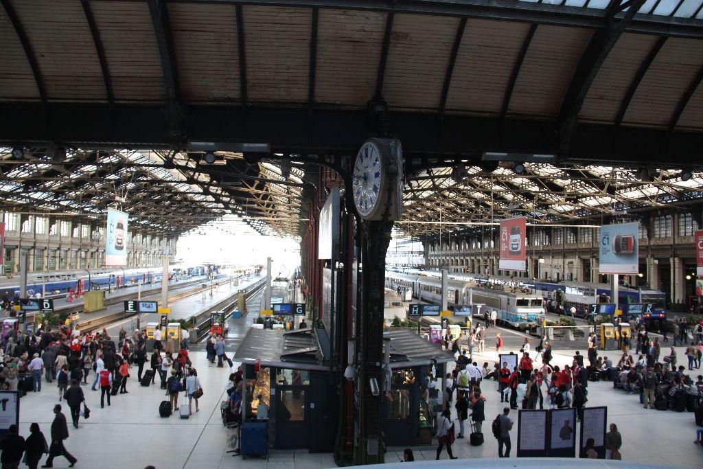 Gare de Lyon - Schöner Blog(t)