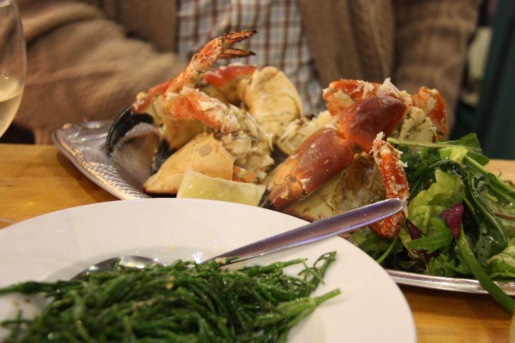 Crabhouse Cafe - Schöner Blog(t)