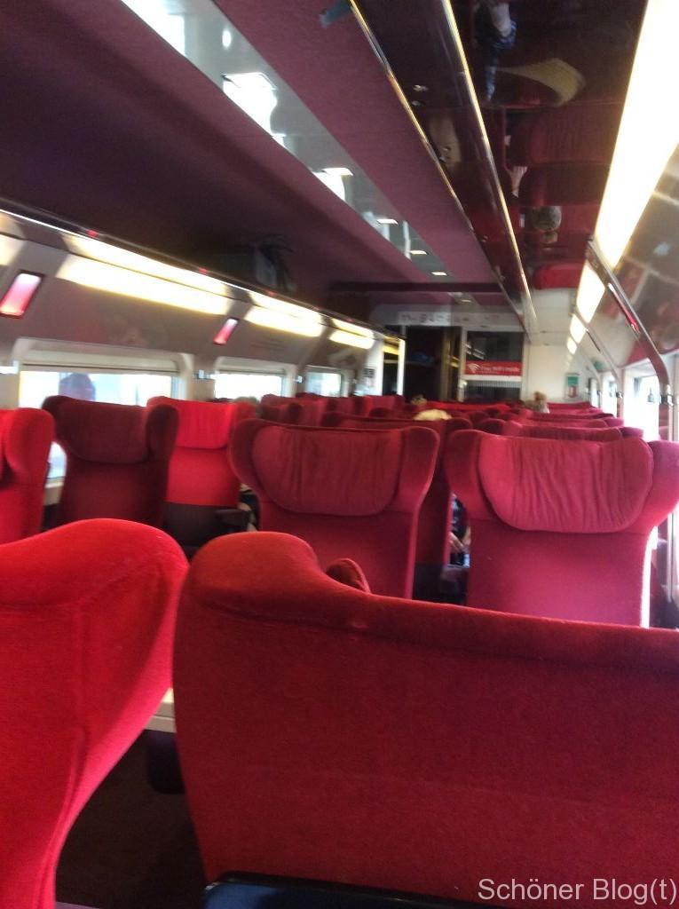 Mit einem Thalys nach Paris