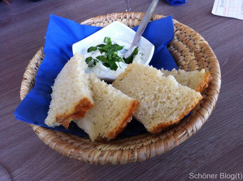 Brot mit leckerem Aufstrich