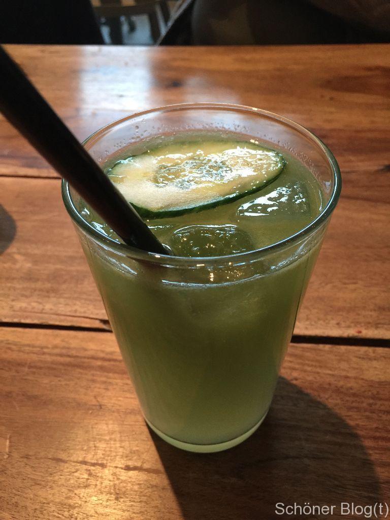 Parker Bowles - Gurke-Ingwer-Limonade - Schöner Blog(t)