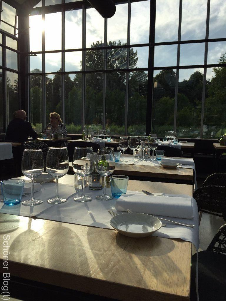 Restaurant De Kas Amsterdam von innen