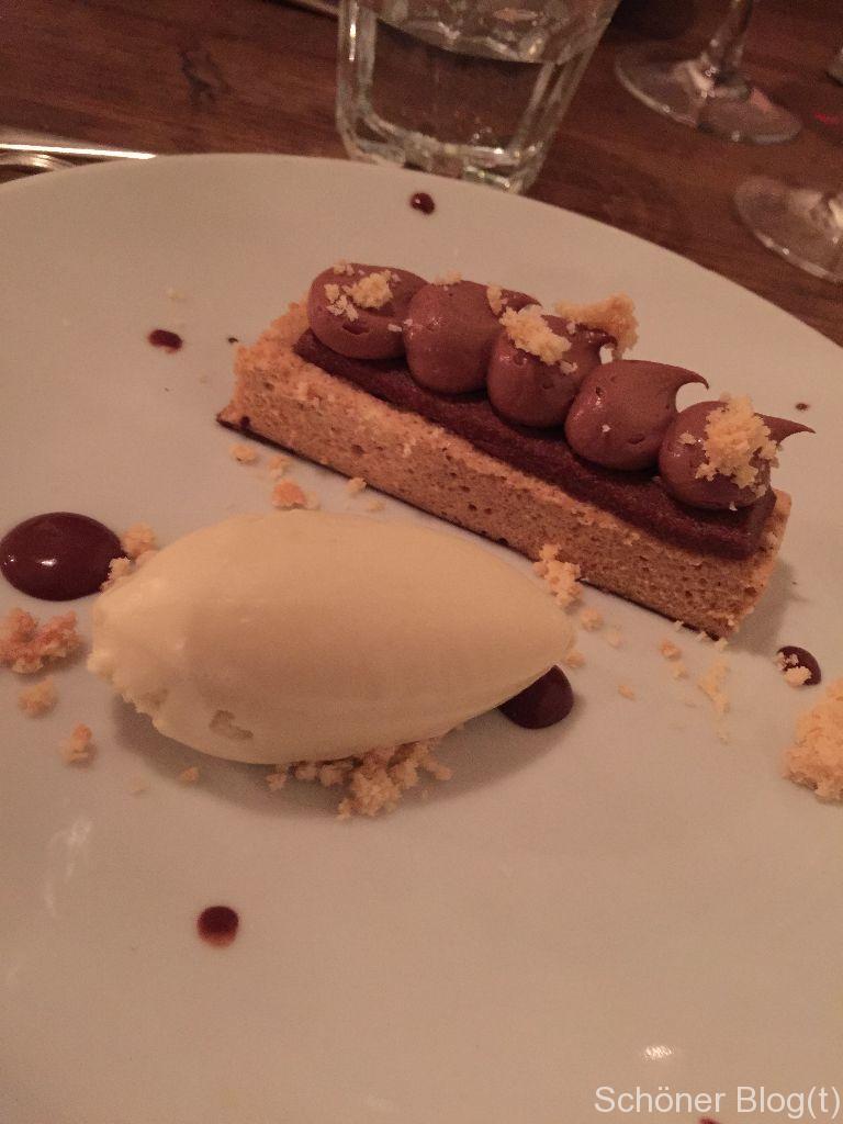 Cora Linn, St. Judes, whipped stawley chocolate & hazlenut slice